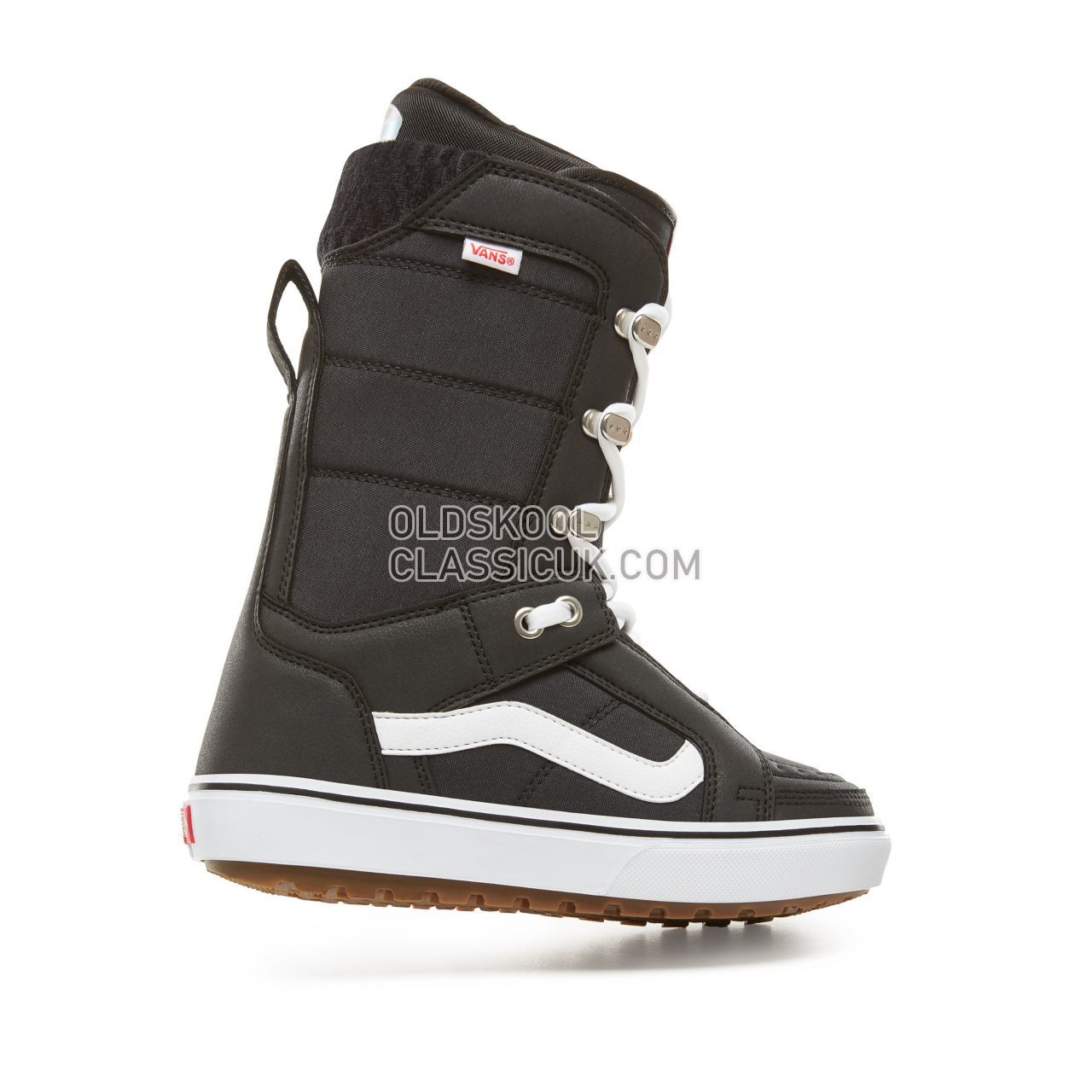 Vans Womens Hi-Standard OG Snowboots Womens Black/White VA3TFSY28 Shoes