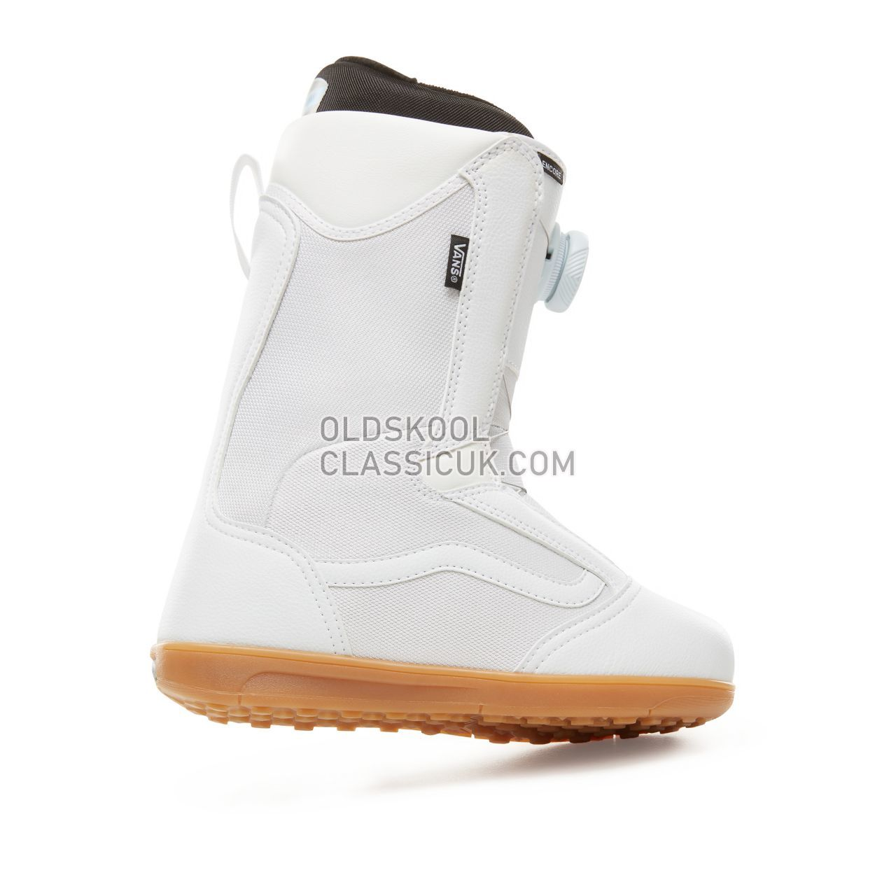 Vans Womens Encore Snowboots Womens White/Gum VA3TFO9DH Shoes