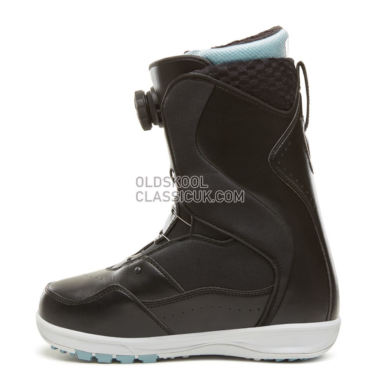 Vans Womens Encore Pro Snowboots Womens Black/Light Blue VA3TFQYP0 Shoes
