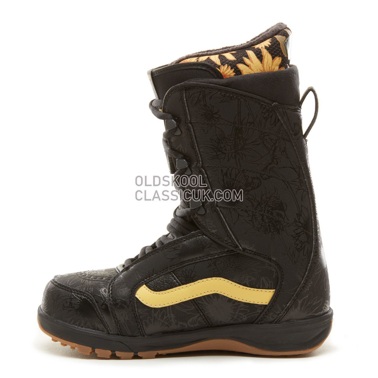 Vans Womens Mary Rand Ferra Pro Snowboots Womens Black/Yellow (Mary Rand) VA3TFRREQ Shoes