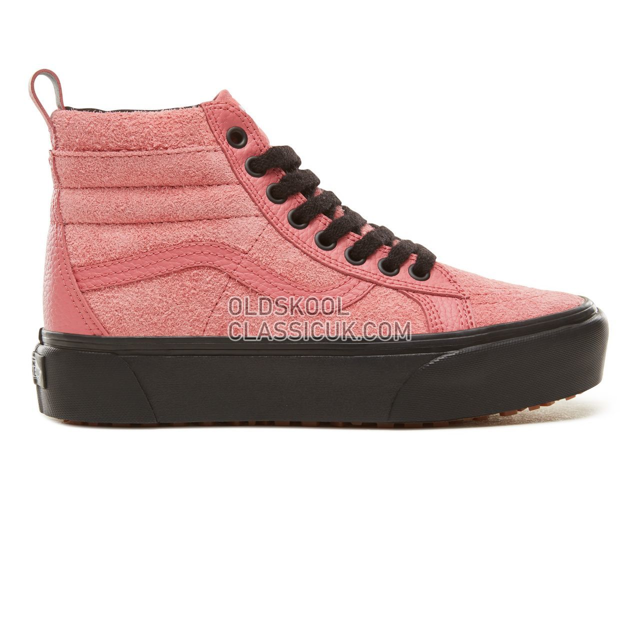 Vans Sk8-Hi Platform MTE Sneakers Womens (Mte) Desert Rose/Black VA3TKOUCE Shoes