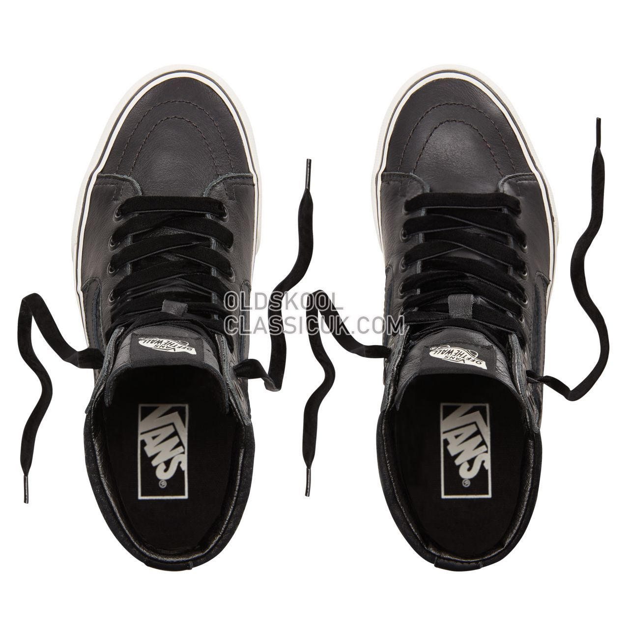 Vans Leather Sk8-Hi Platform 2.0 Sneakers Womens (Leather) Snake/Black VN0A3TKNUQF Shoes