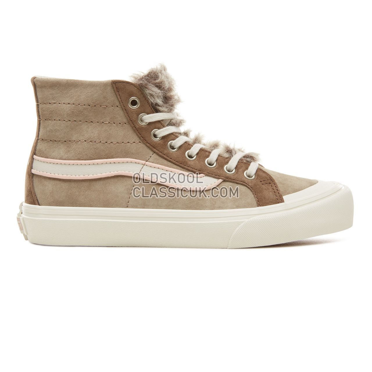 Vans Wolf Pack Sk8-Hi 138 Decon SF Sneakers Womens (Wolf Pack) Desert Taupe VA3MV1UBR Shoes