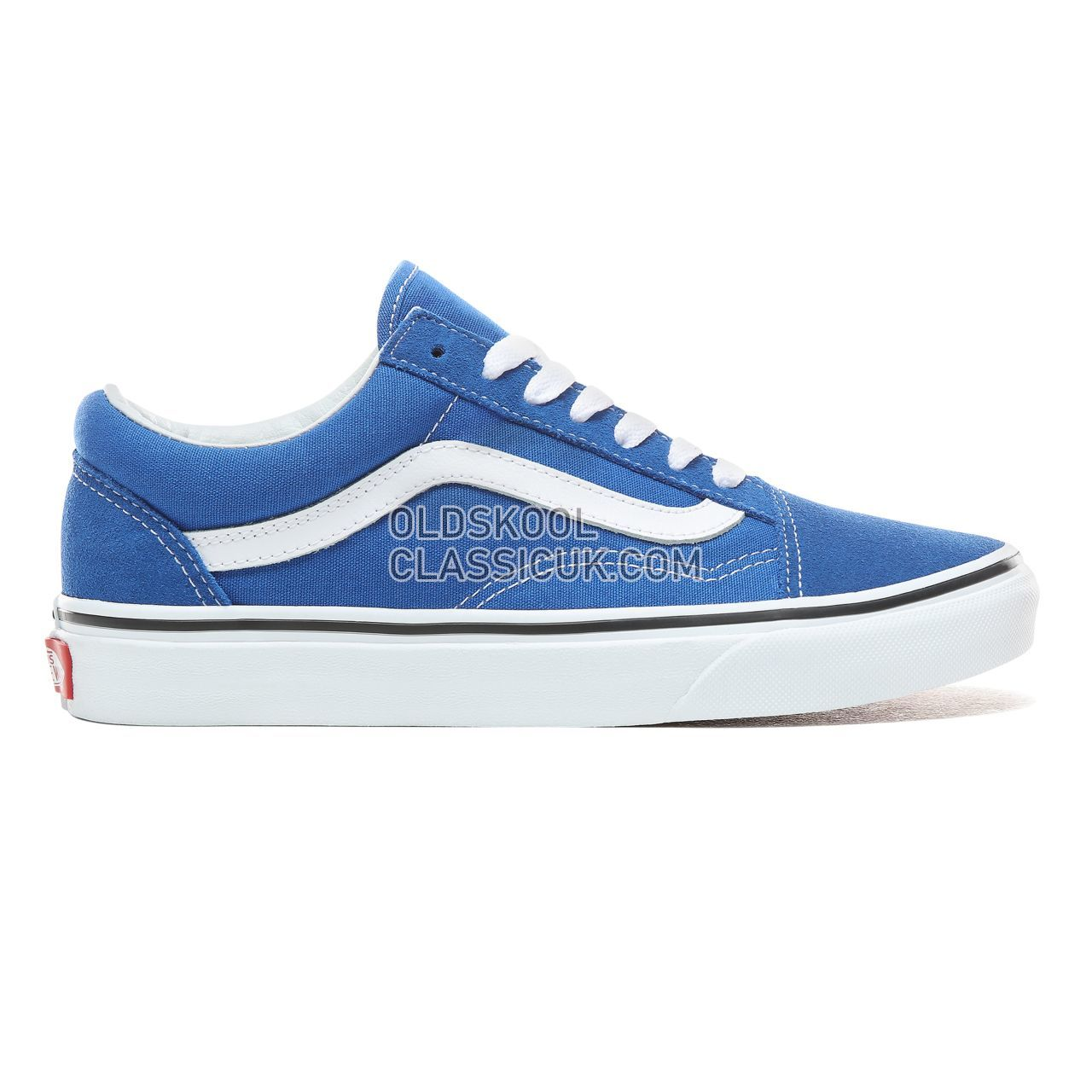 Vans Old Skool Sneakers Womens Lapis Blue/True White VN0A38G1VJI Shoes