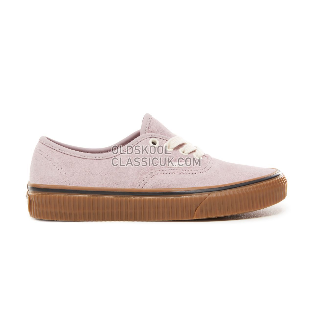 Vans Suede Authentic Sneakers Womens (Suede) Violet Ice/Embossed Gum VN0A38EMUKP Shoes