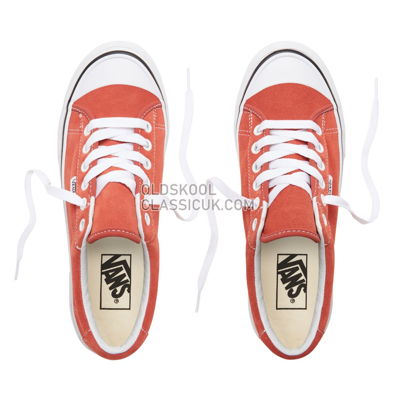Vans Suede Style 29 Sneakers Womens (Suede) Hot Sauce/True White VN0A3MVHUR8 Shoes
