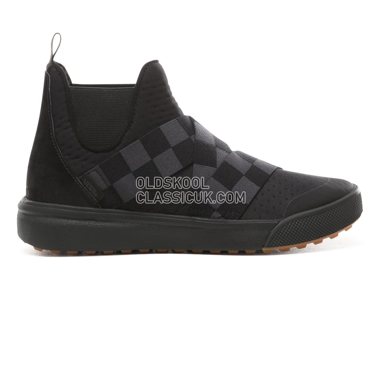 Vans Mega Check Ultrarange Gore Hi Sneakers Womens (Mega Check) Black/Black VN0A3TKXURJ Shoes