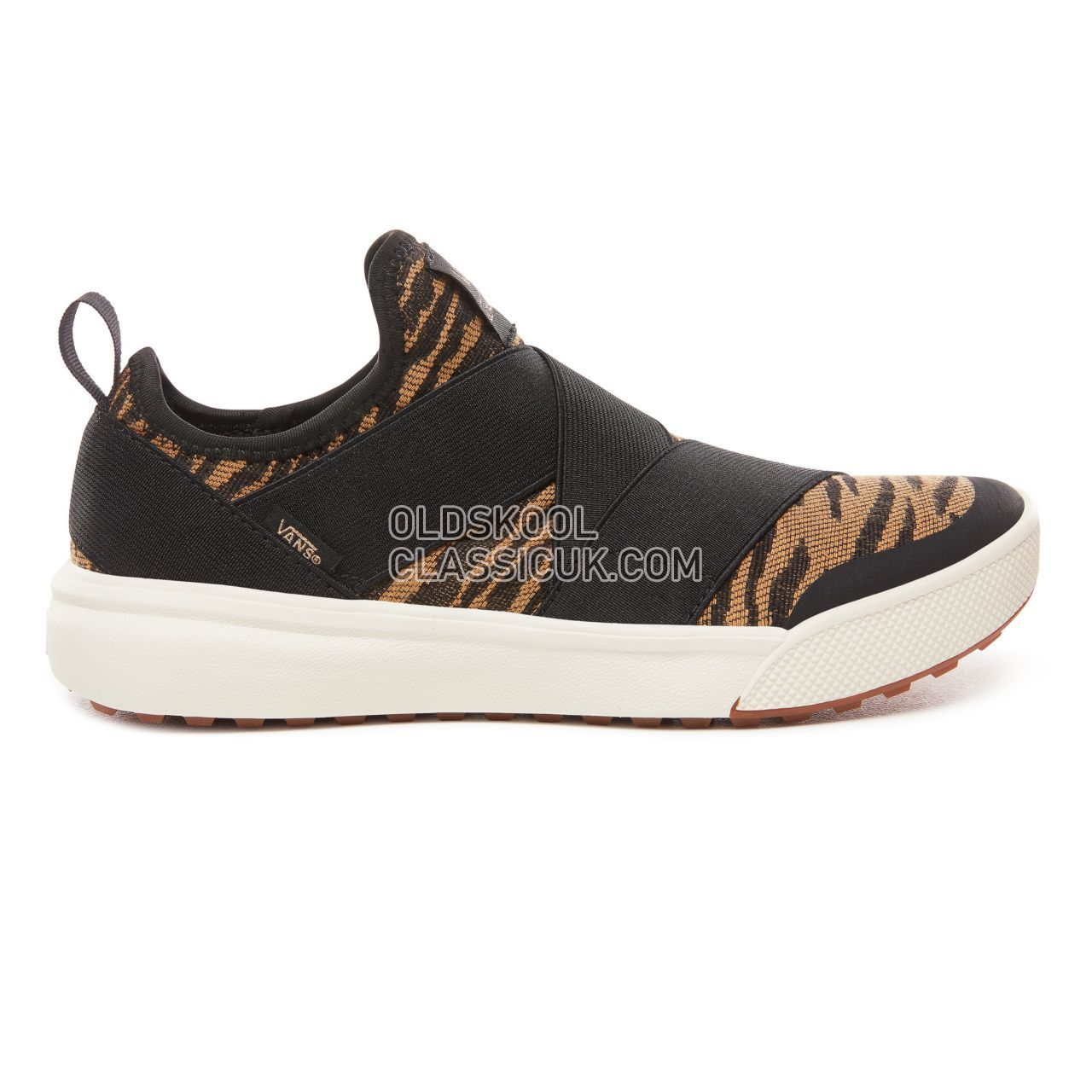 Vans Woven Tiger Ultrarange Gore Sneakers Womens (Woven Tiger) Black VN0A3MVRUR3 Shoes
