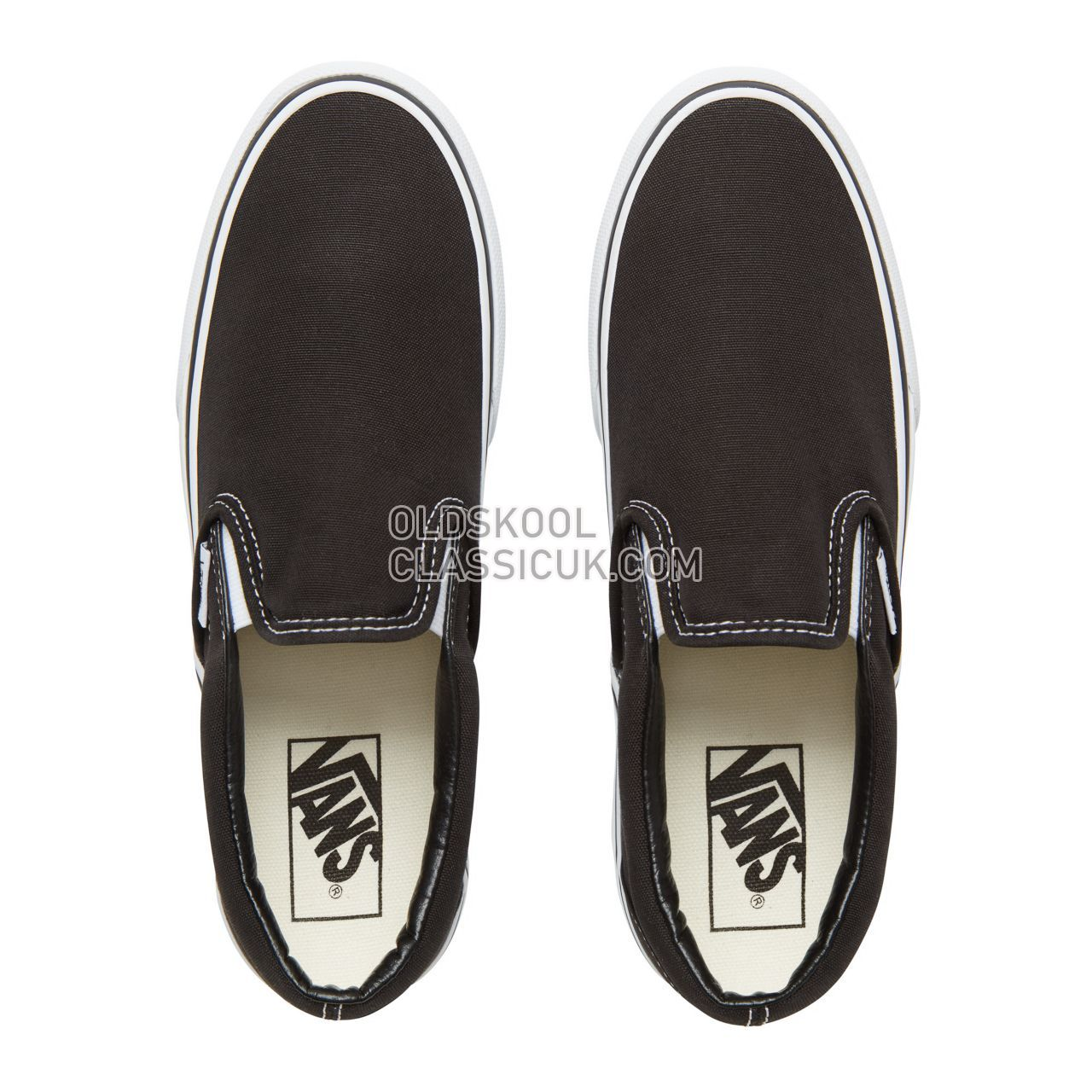 Vans Classic Slip-On Platform Womens Black VN00018EBLK Shoes