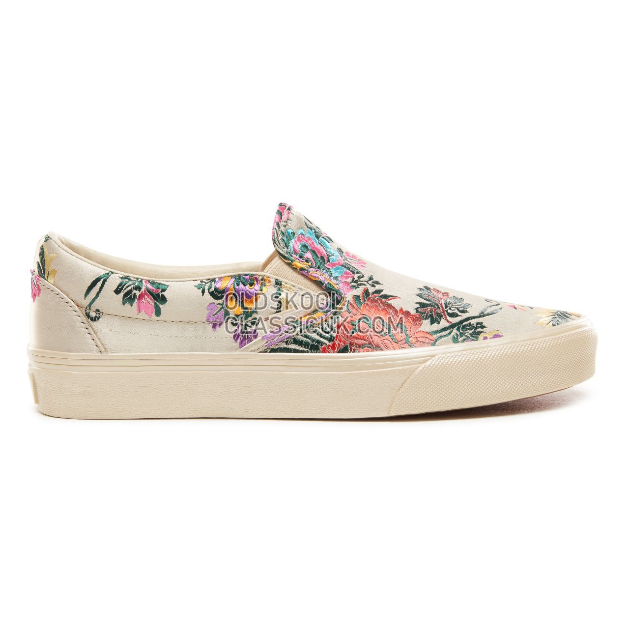 Vans Festival Satin Classic Slip On Sneakers Womens