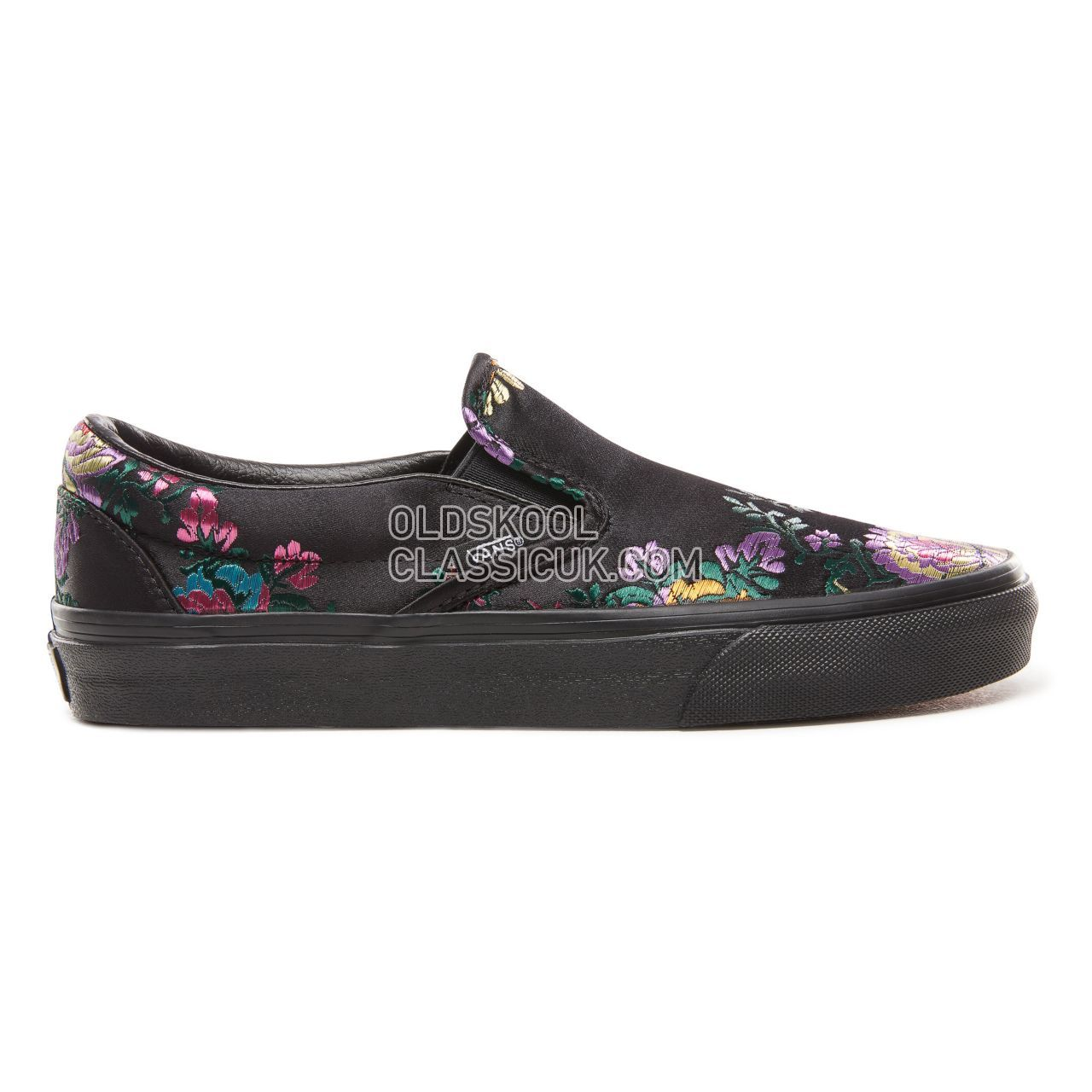big sale outlet 2019 hot sale Vans Festival Satin Classic Slip-On Sneakers Womens ...