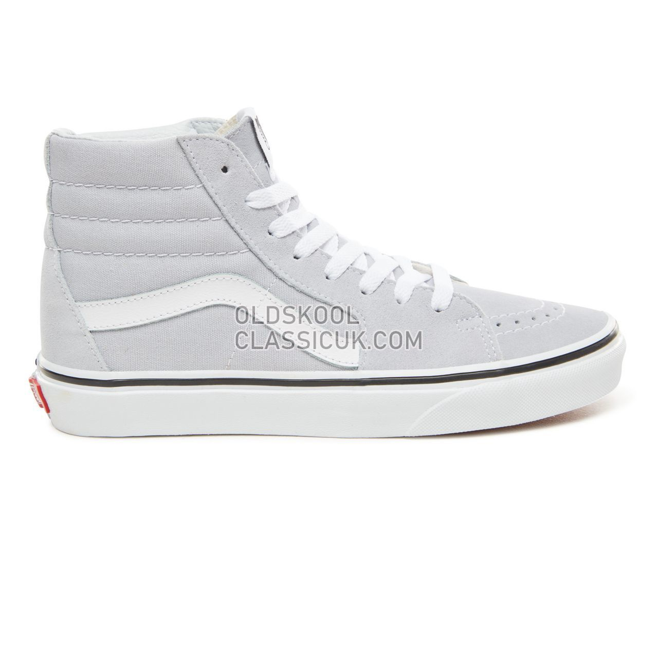 36a4de7b402f34 Vans Sk8-Hi Sneakers Womens Gray Dawn True White VN0A38GEUKX Shoes - £50