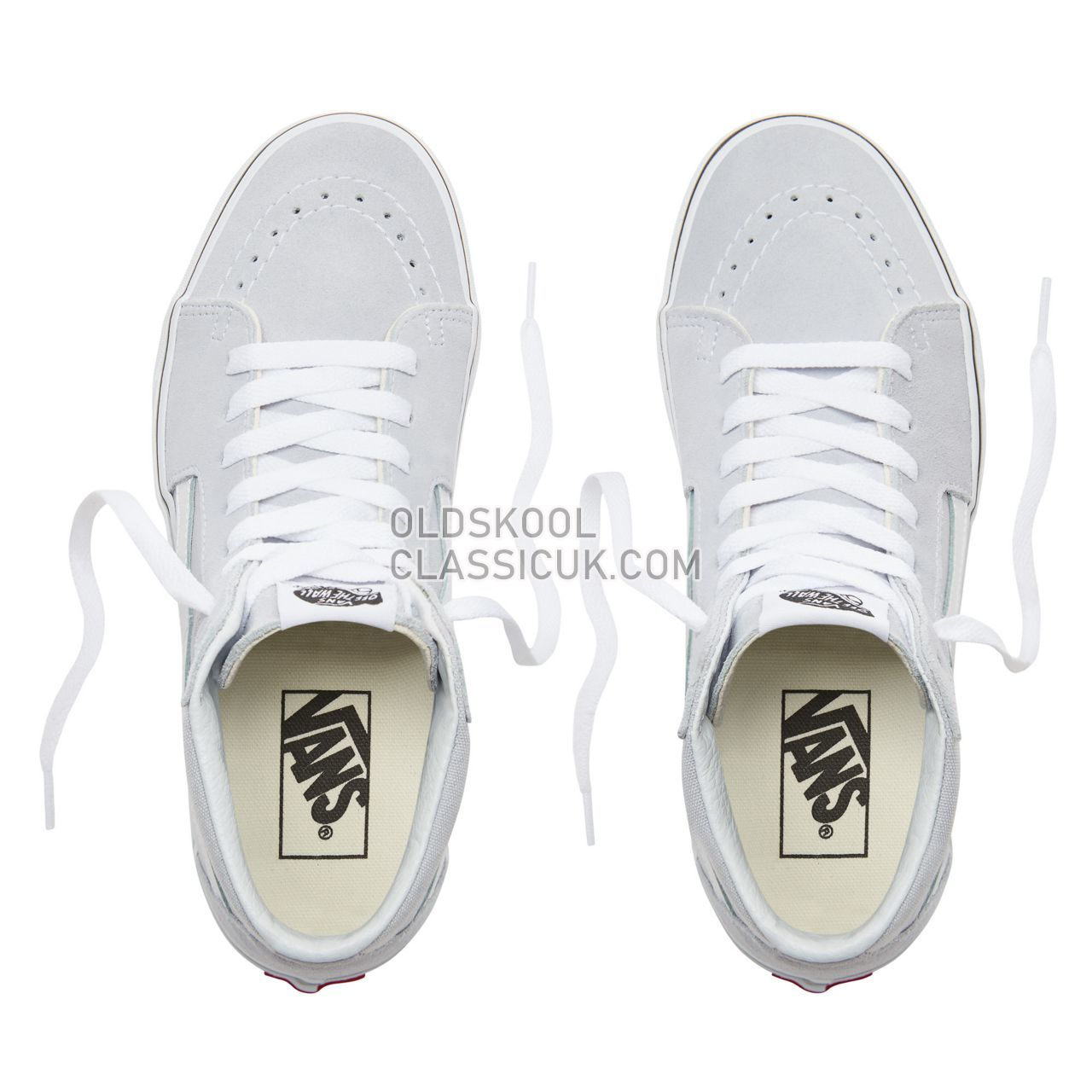 02377a081a9009 ... Vans Sk8-Hi Sneakers Womens Gray Dawn True White VN0A38GEUKX Shoes ...