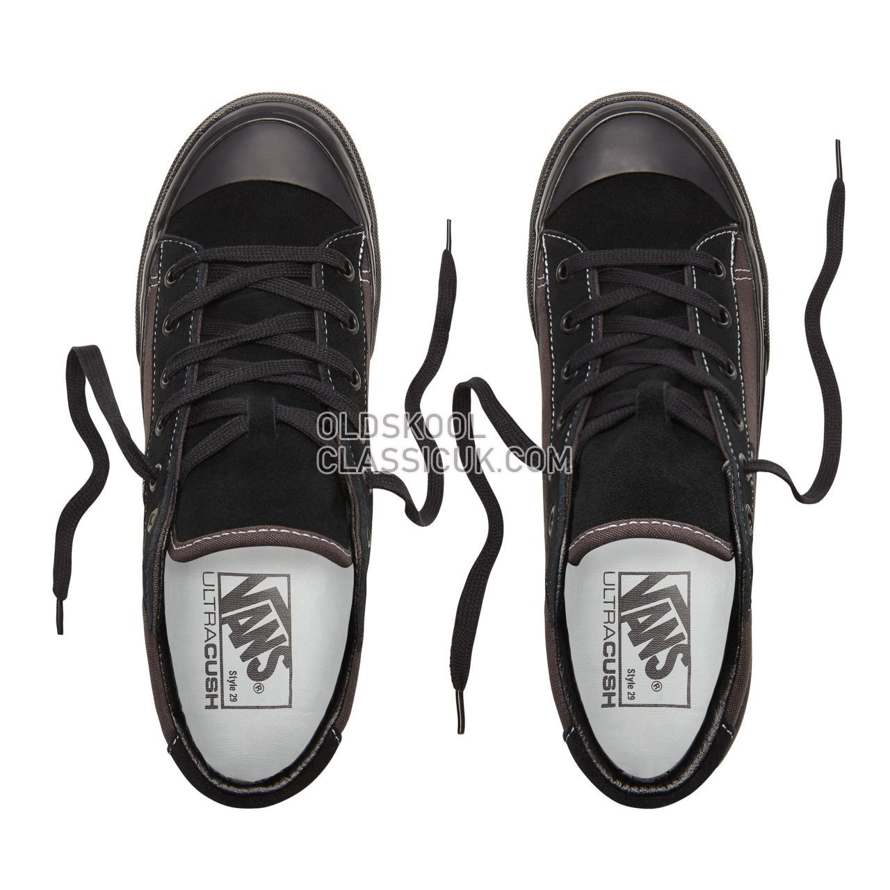 Vans Anaheim Factory Style 29 Mid Dx Sneakers Womens (Anaheim Factory) Og Black VN0A3ZCIUDA Shoes