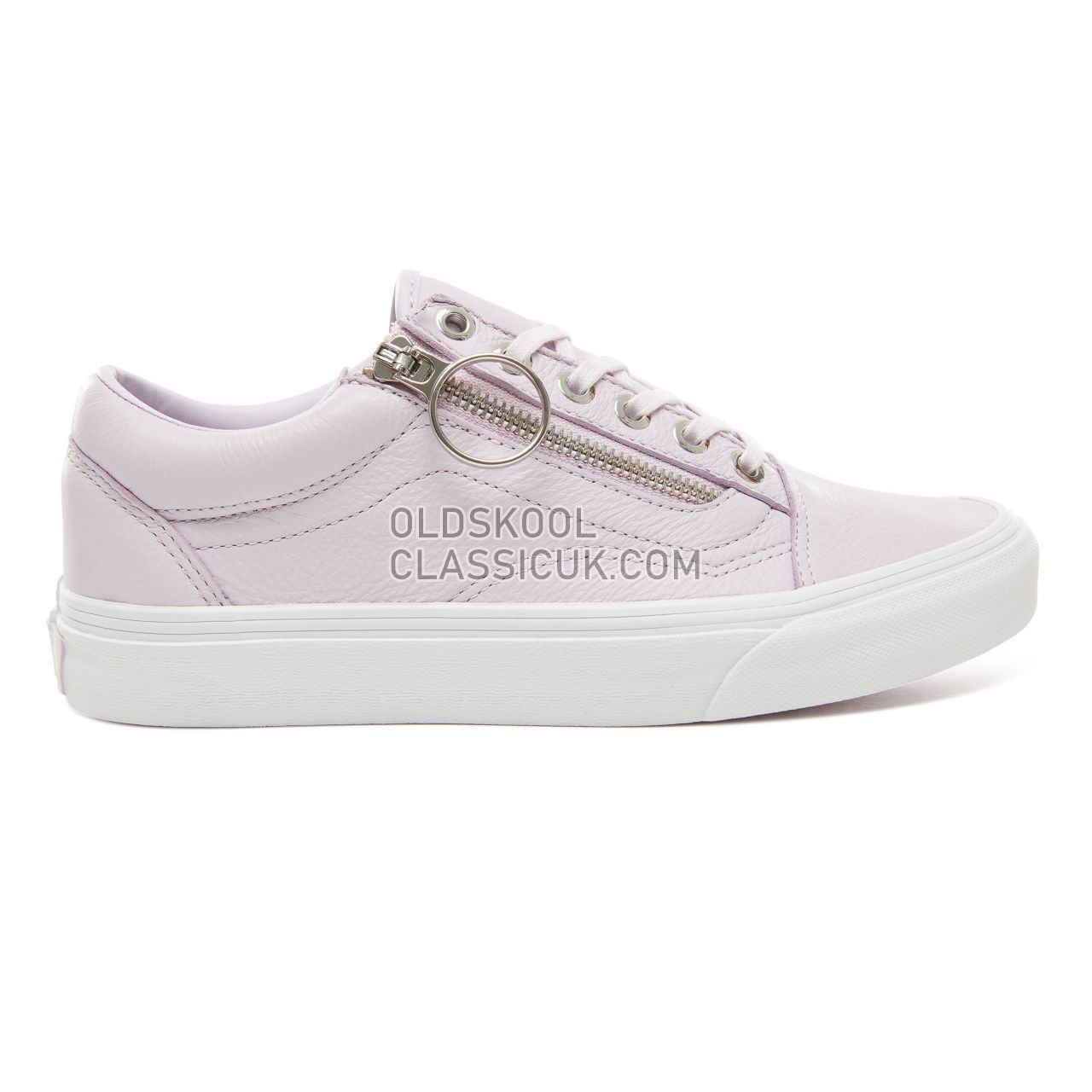 0ff1415b6f Vans Metal Hardware Old Skool Zip Sneakers Womens (Metal Hardware) Lavender  Fog True ...