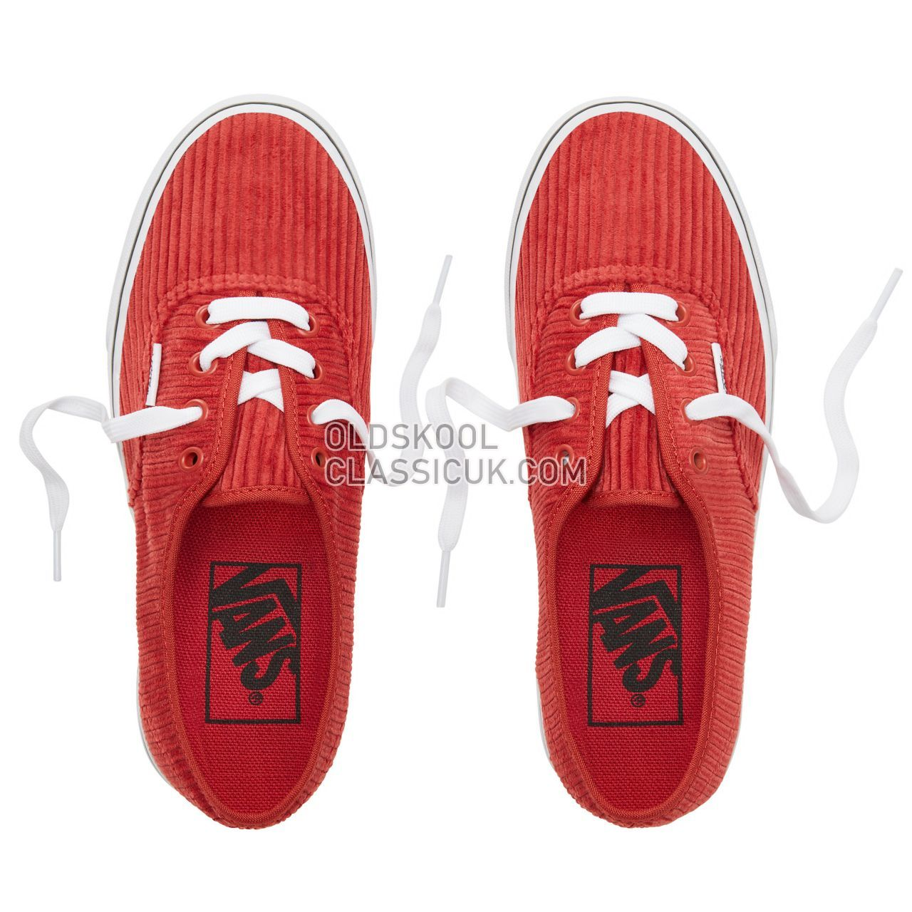 Vans Design Assembly Corduroy Authentic Sneakers Womens (Design Assembly) Bossa Nova/True White VA38EMU56 Shoes