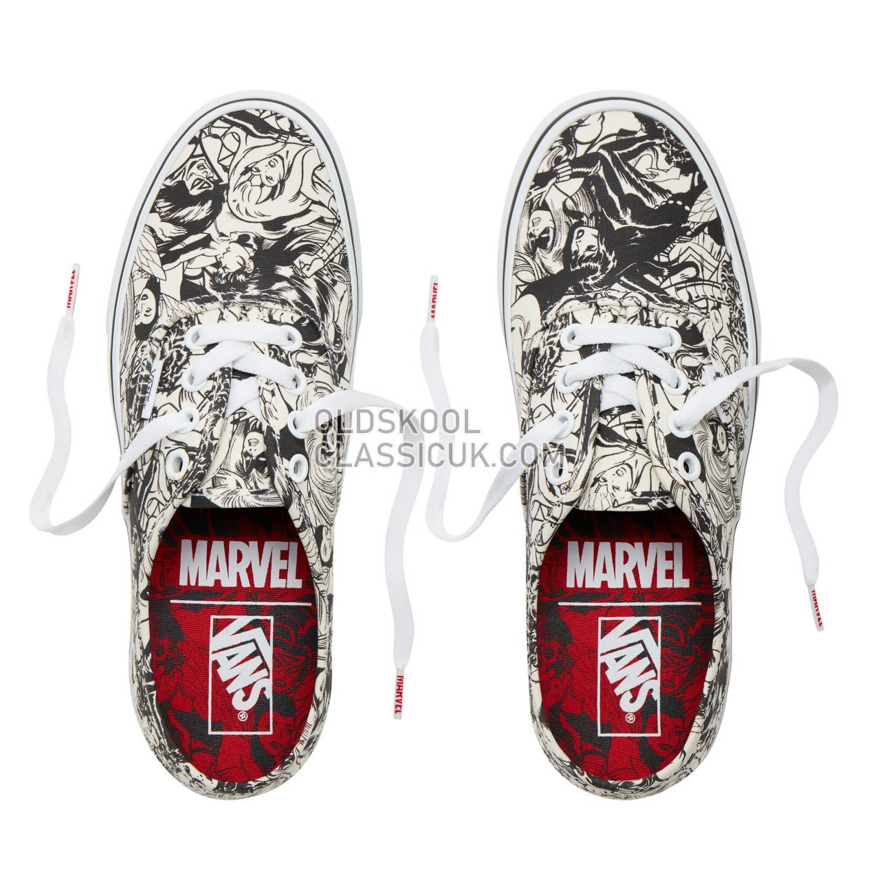 Vans X Marvel Authentic Sneakers Womens (Marvel) Multi/Women VA38EMU5I Shoes