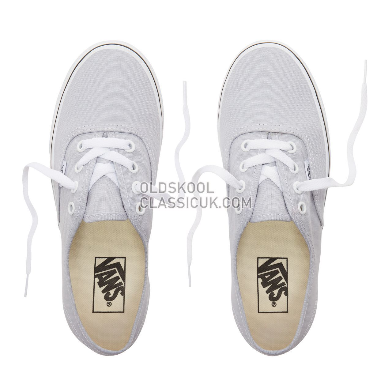 Vans Authentic Sneakers Womens Gray Dawn/True White VN0A38EMUKX Shoes