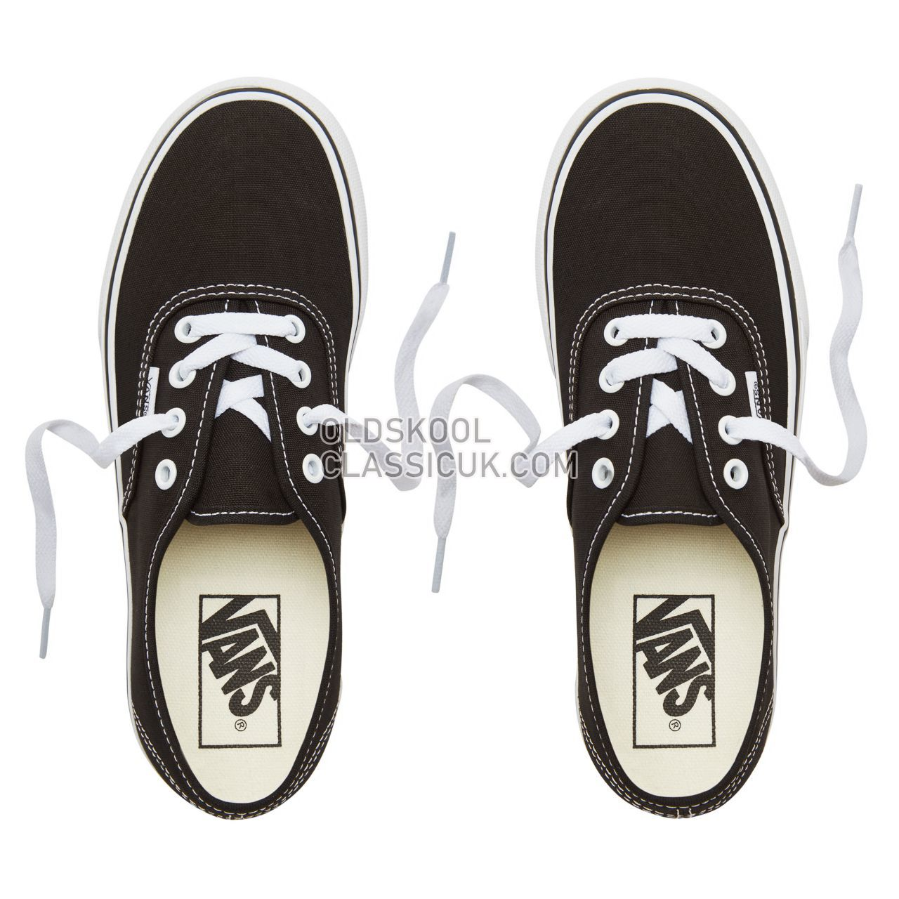 Vans Authentic Platform 2.0 Sneakers Womens Black VN0A3AV8BLK Shoes