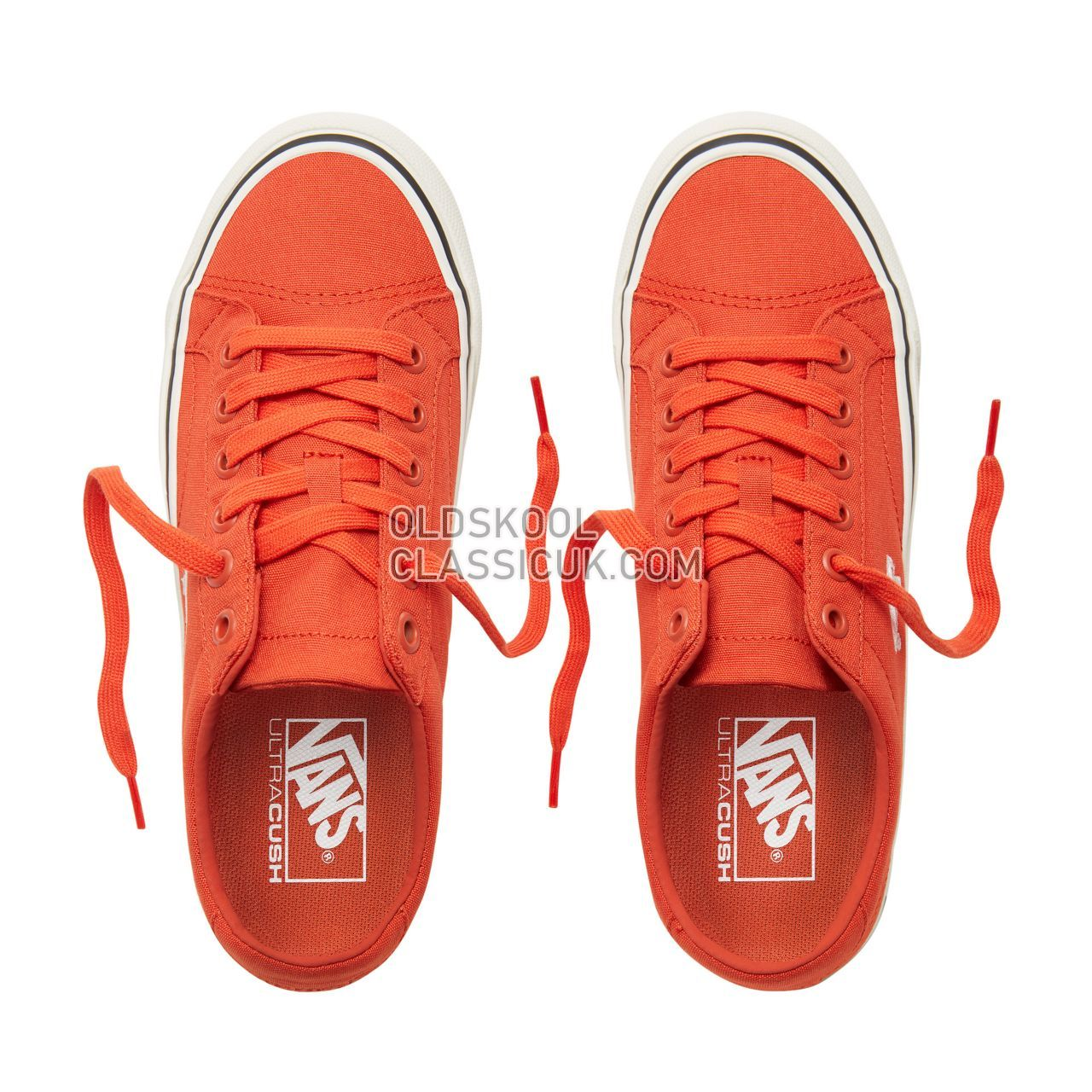 Vans Court Icon Sneakers Womens (Canvas) Pureed Pumpkin/Cloud Dancer VA3JF2U86 Shoes