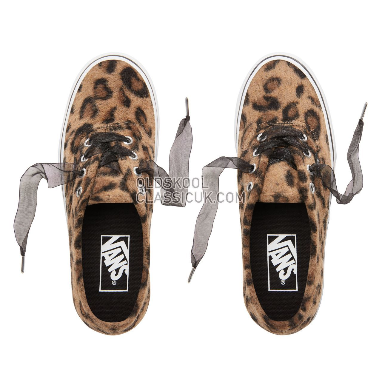Vans Fuzzy Authentic Platform 2.0 Sneakers Womens (Fuzzy) Leopard/True White VN0A3AV8RSO Shoes