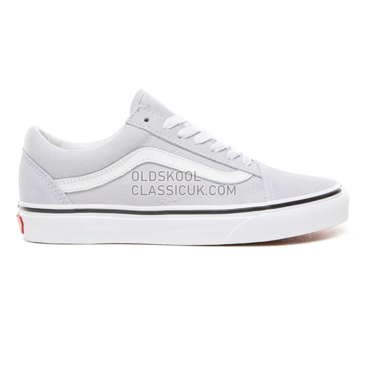 Vans Old Skool Sneakers Womens Gray Dawn/True White VN0A38G1UKX Shoes