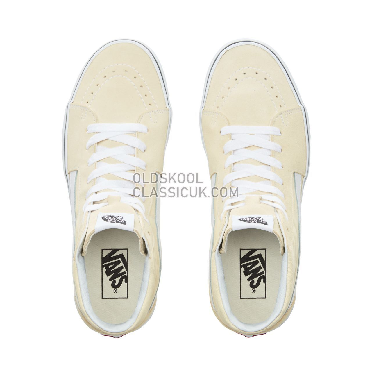 Vans Sk8-Hi Sneakers Mens Vanilla Custard/True White VN0A38GEVKV Shoes