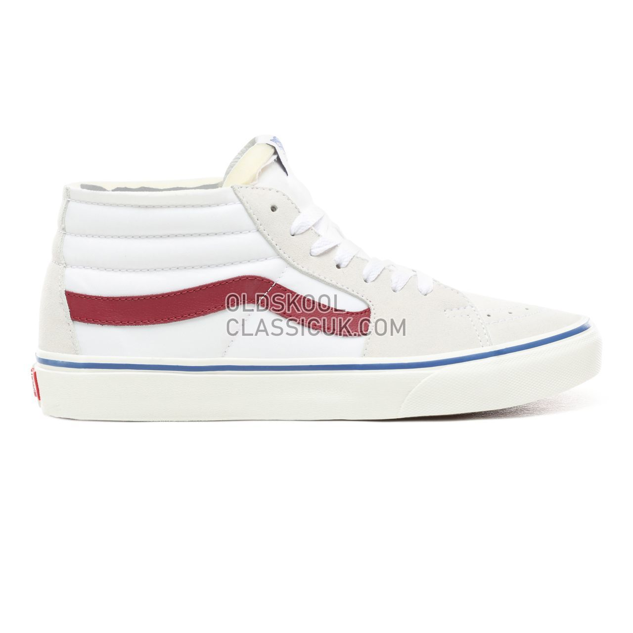 04a3f8a93b Vans Foam Sk8-Mid Sneakers Mens (Foam) True White Marshmallow VN0A3WM3VP3  Shoes ...