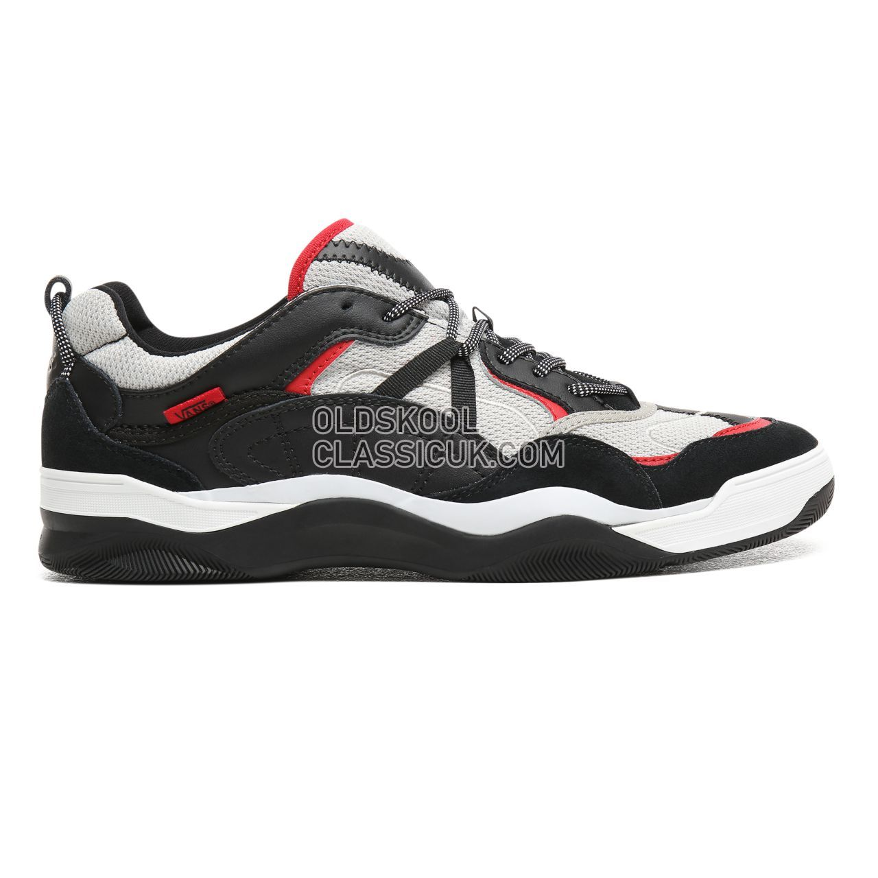 Vans Varix WC Sneakers Mens Black/Silver/Racing Red VN0A3WLNT48 Shoes