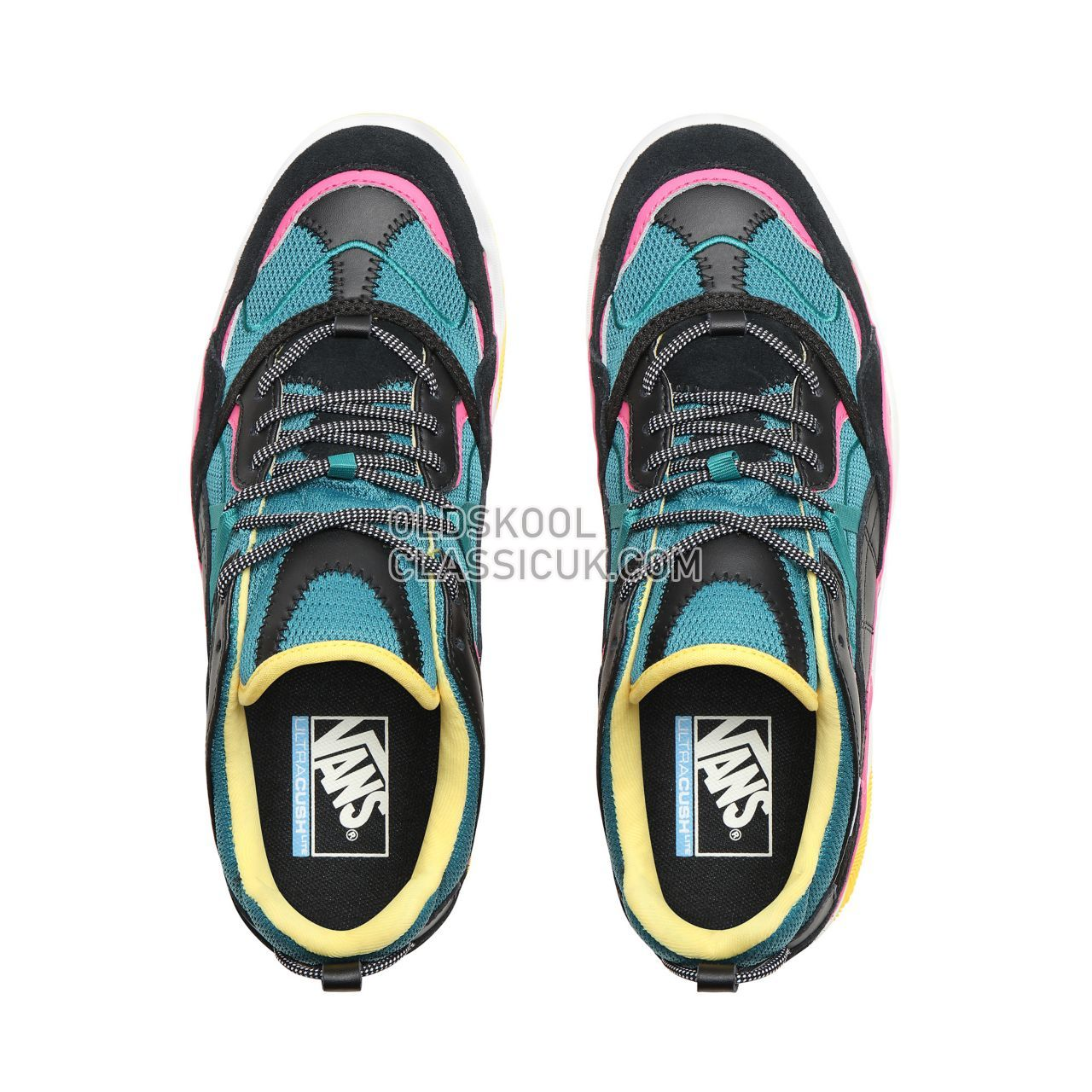 ec1a4e9aee8dd4 Vans Varix WC Sneakers Mens Black Quetzal Green Carmine Rose VN0A3WLNT47  Shoes - £91
