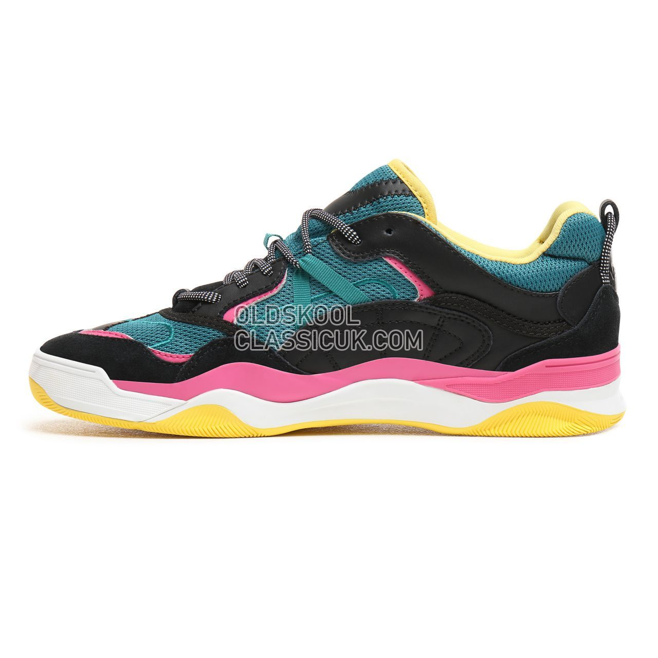 ddab63d1a7ad13 ... Vans Varix WC Sneakers Mens Black Quetzal Green Carmine Rose  VN0A3WLNT47 Shoes ...