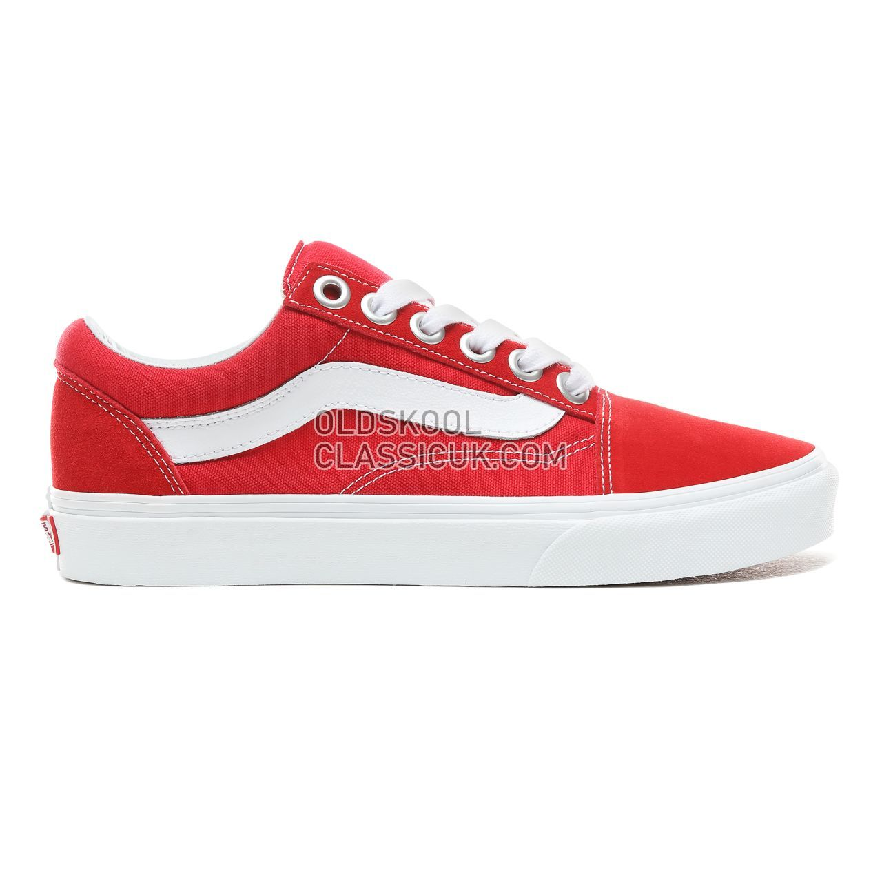 a8bf2db2ad Vans Old Skool OS Sneakers Mens Womens Unisex Racing Red True White  VN0A3WLYJV6 Shoes ...