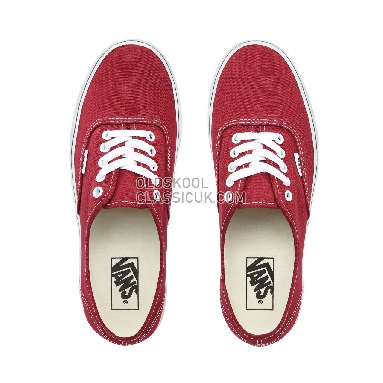 0f694c7172 Vans Authentic Shoes Mens Style Code VN0A38EMVG4 Colour Rumba Red True White