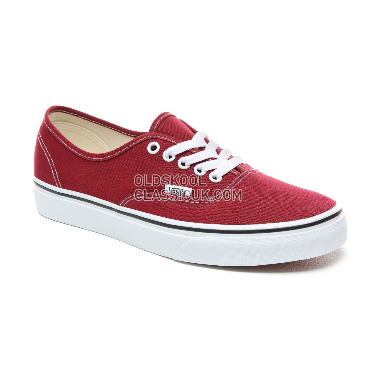 Vans Authentic  Sneakers Mens Rumba Red/True White VN0A38EMVG4 Shoes