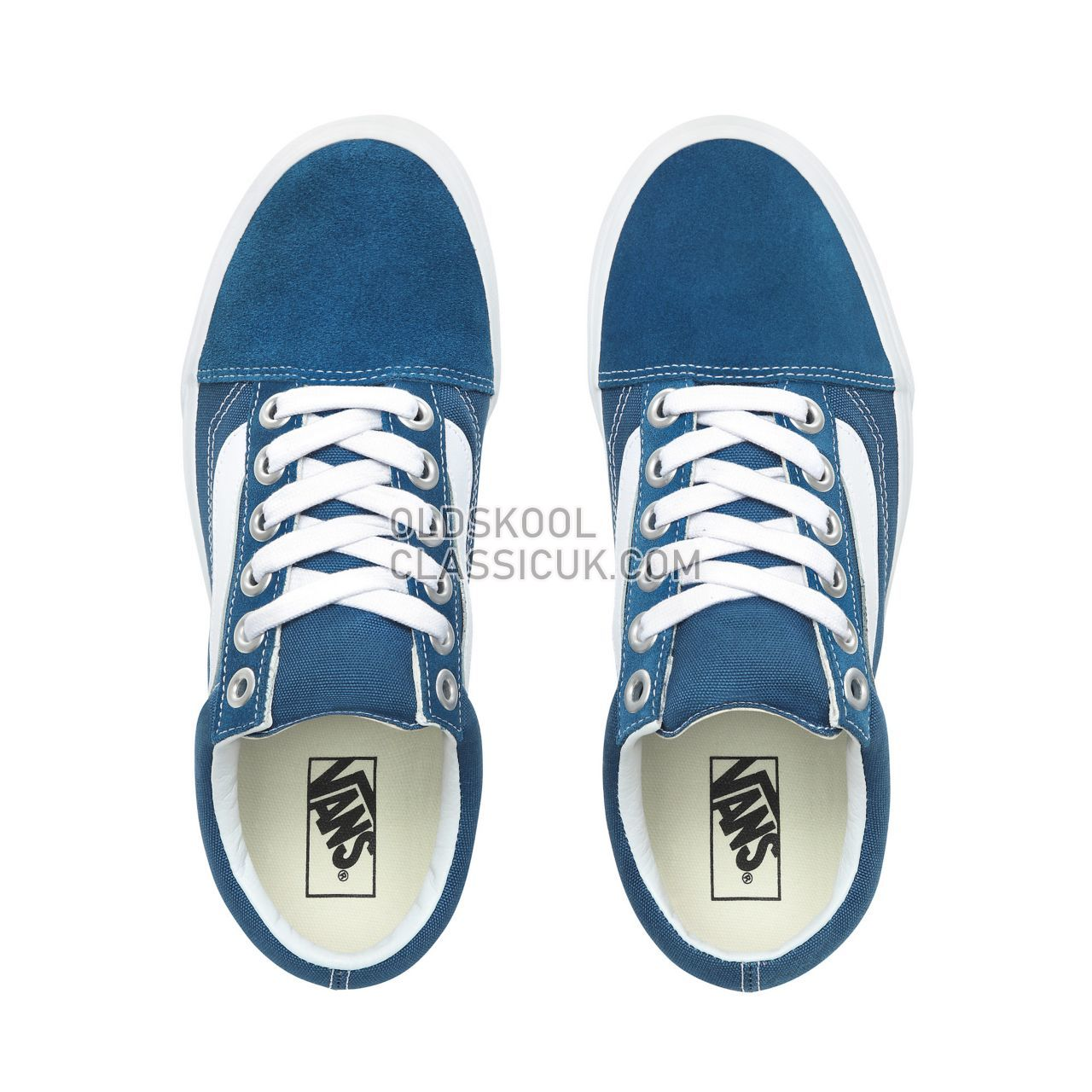 Vans Old Skool OS Sneakers Mens Womens Unisex Sailor Blue/True White VN0A3WLYVS1 Shoes