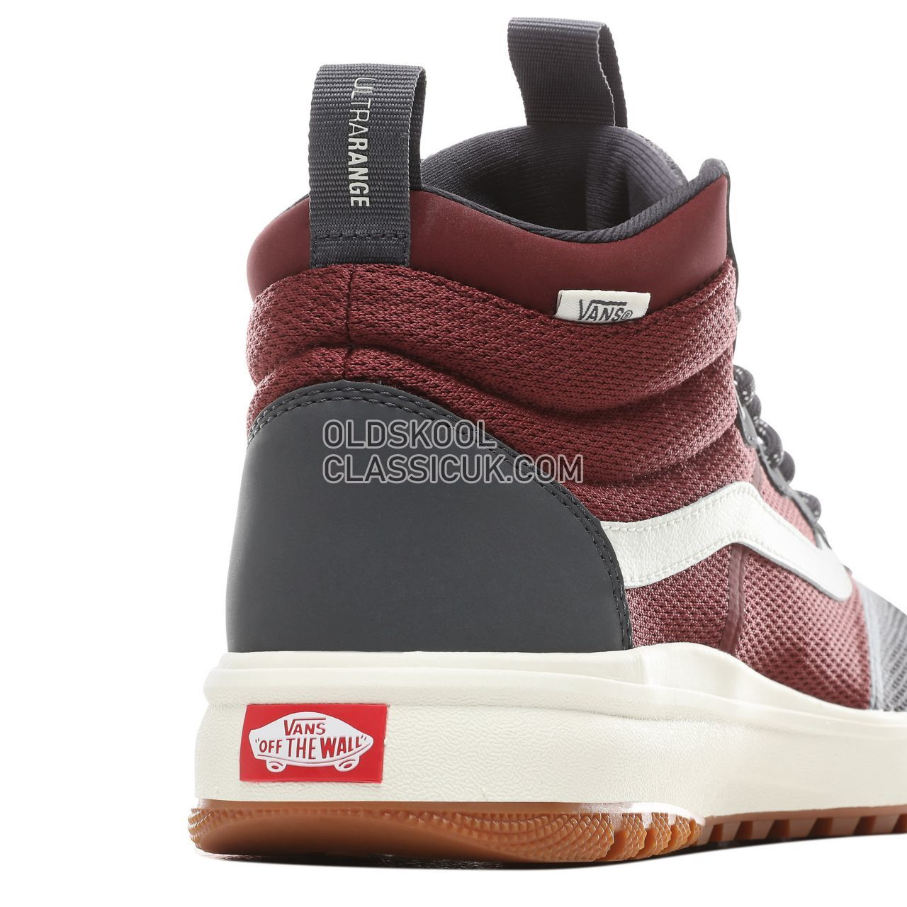 Vans Ultrarange Hi DL Sneakers Mens Ebony/Port Royale VN0A3WMFVU8 Shoes
