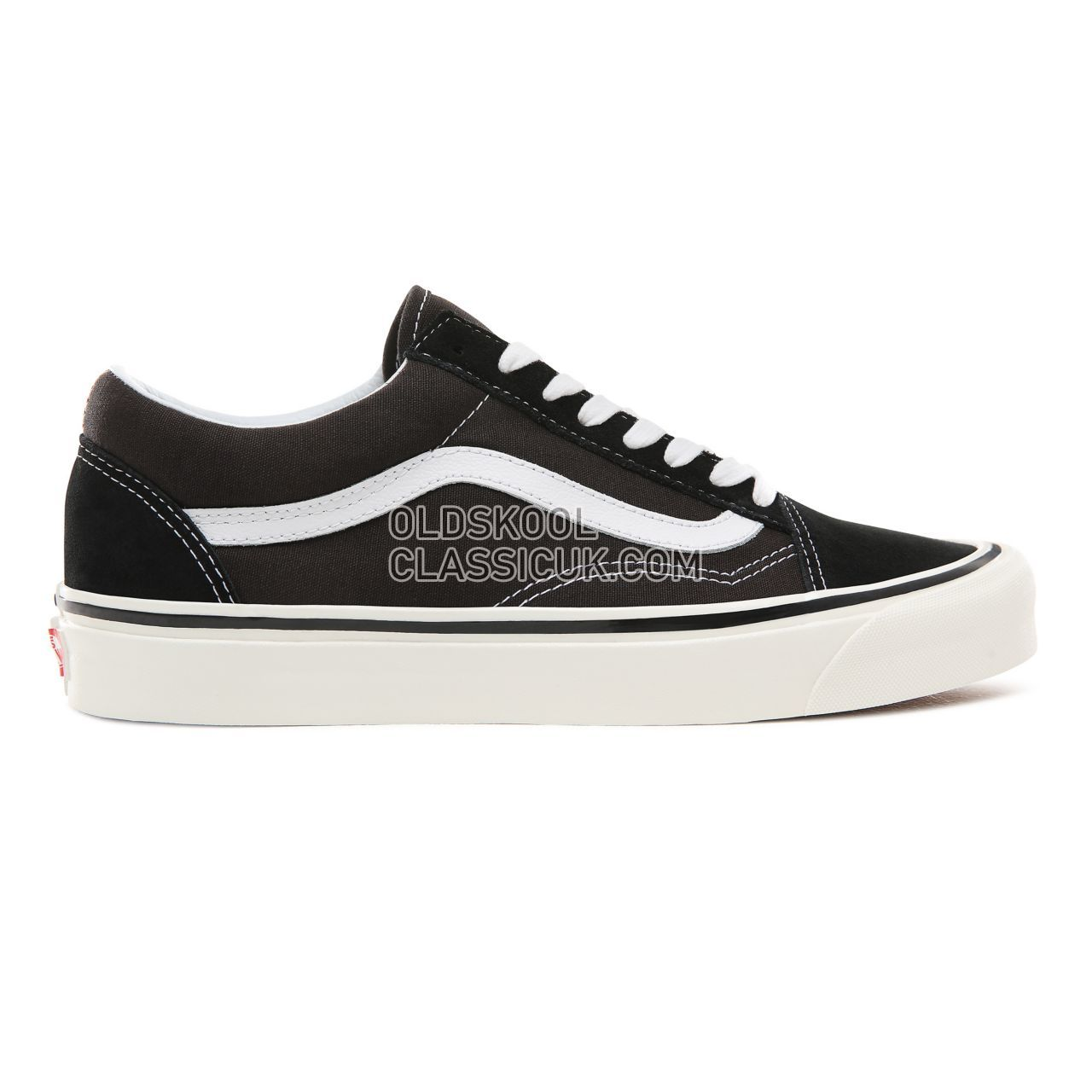 Vans Anaheim Factory Old Skool 36 DX Sneakers Mens Womens Unisex (Anaheim Factory) Black/True White VN0A38G2PXC Shoes