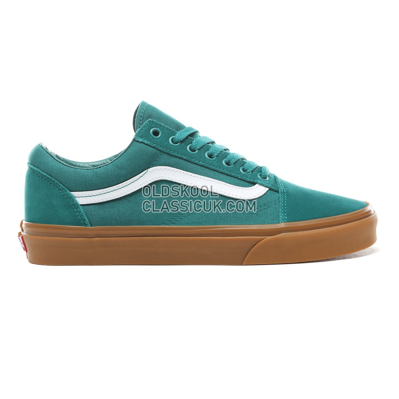 Vans Old Skool Sneakers Mens Womens Unisex Quetzal Green/Gum VN0A38G1VKU Shoes