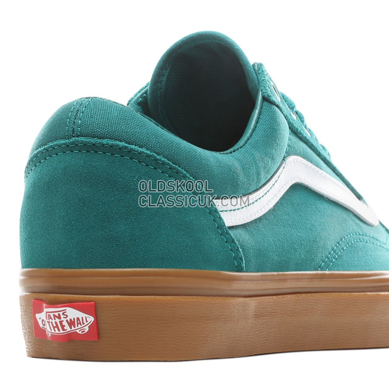 afa9520ef6a ... Vans Old Skool Sneakers Mens Womens Unisex Quetzal Green Gum  VN0A38G1VKU Shoes