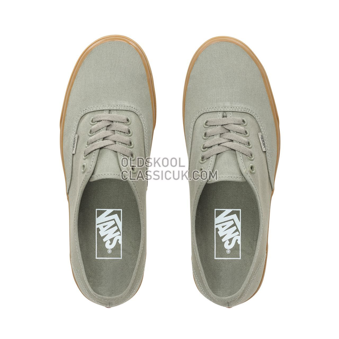 Vans Authentic Sneakers Mens Laurel Oak/Gum VN0A38EMVKS Shoes