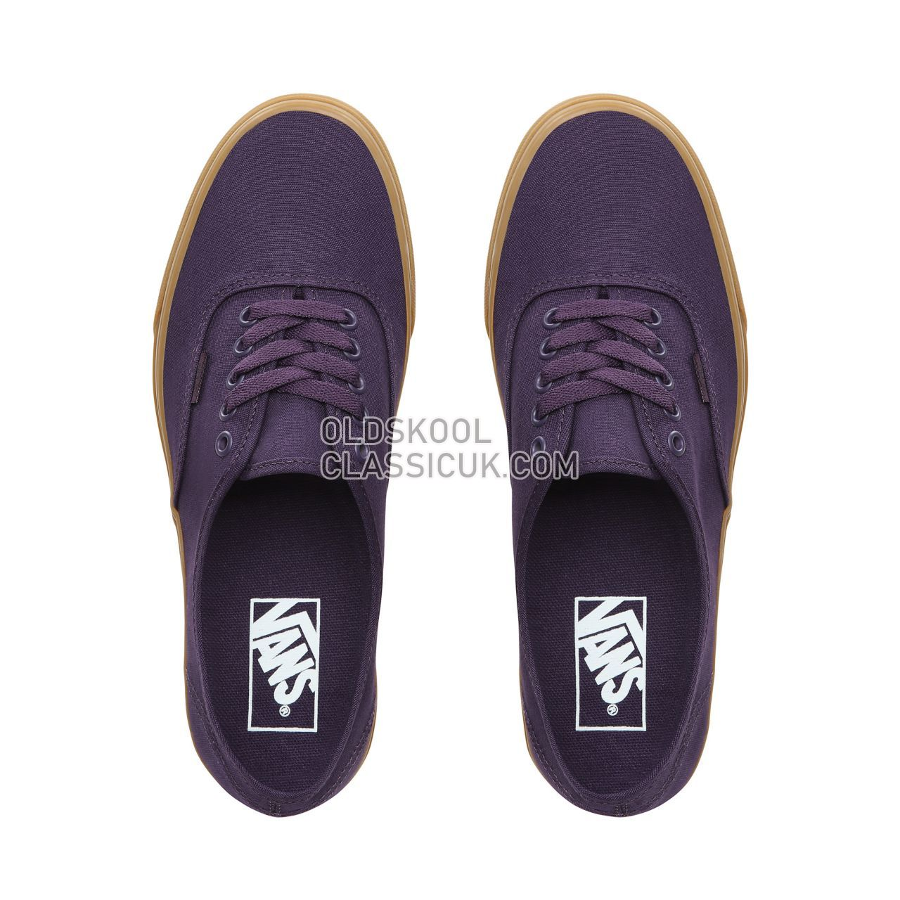 Vans Authentic Sneakers Mens Mysterioso/Gum VN0A38EMVKT Shoes