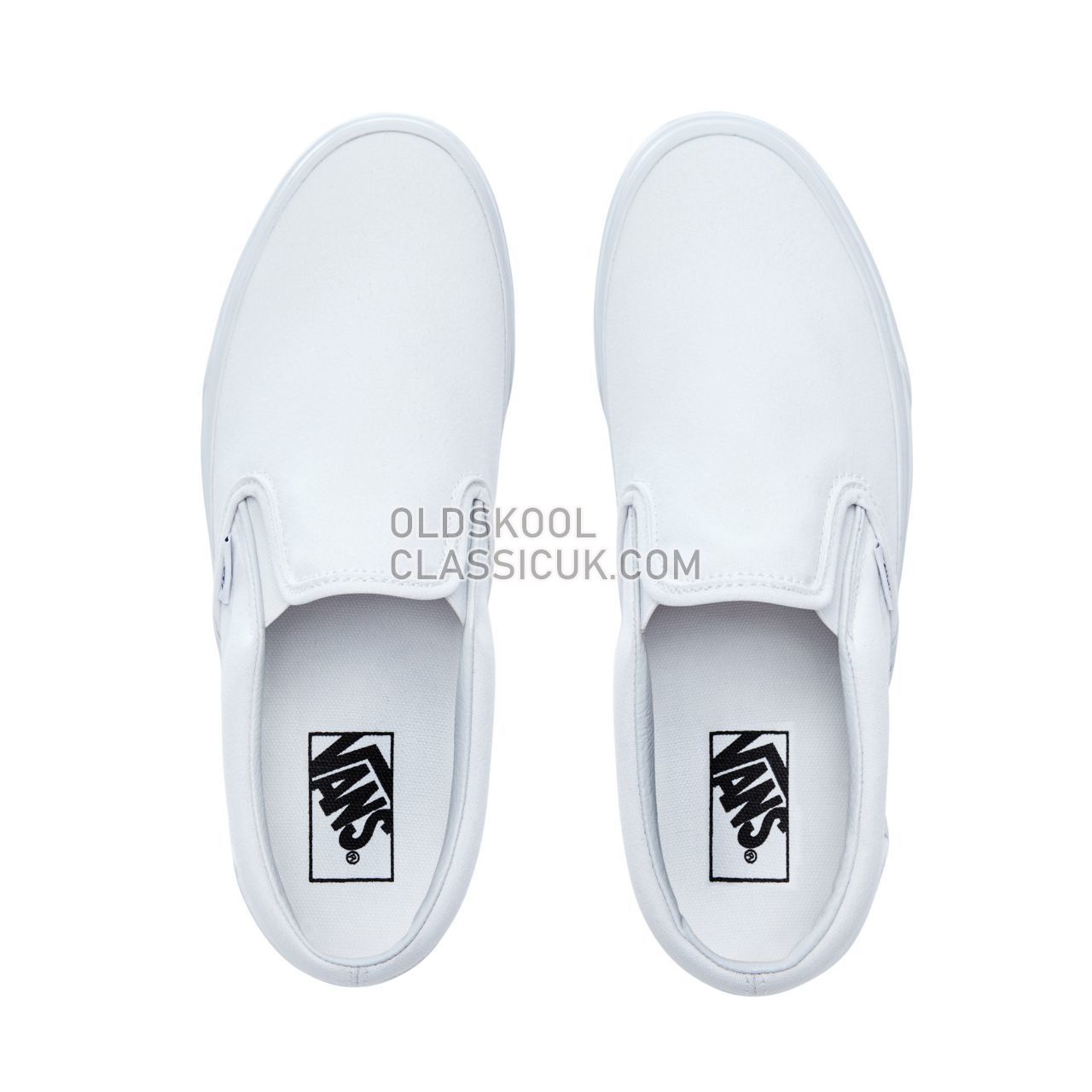 Vans Classic Slip-On Sneakers Mens True White VN000EYEW00 Shoes