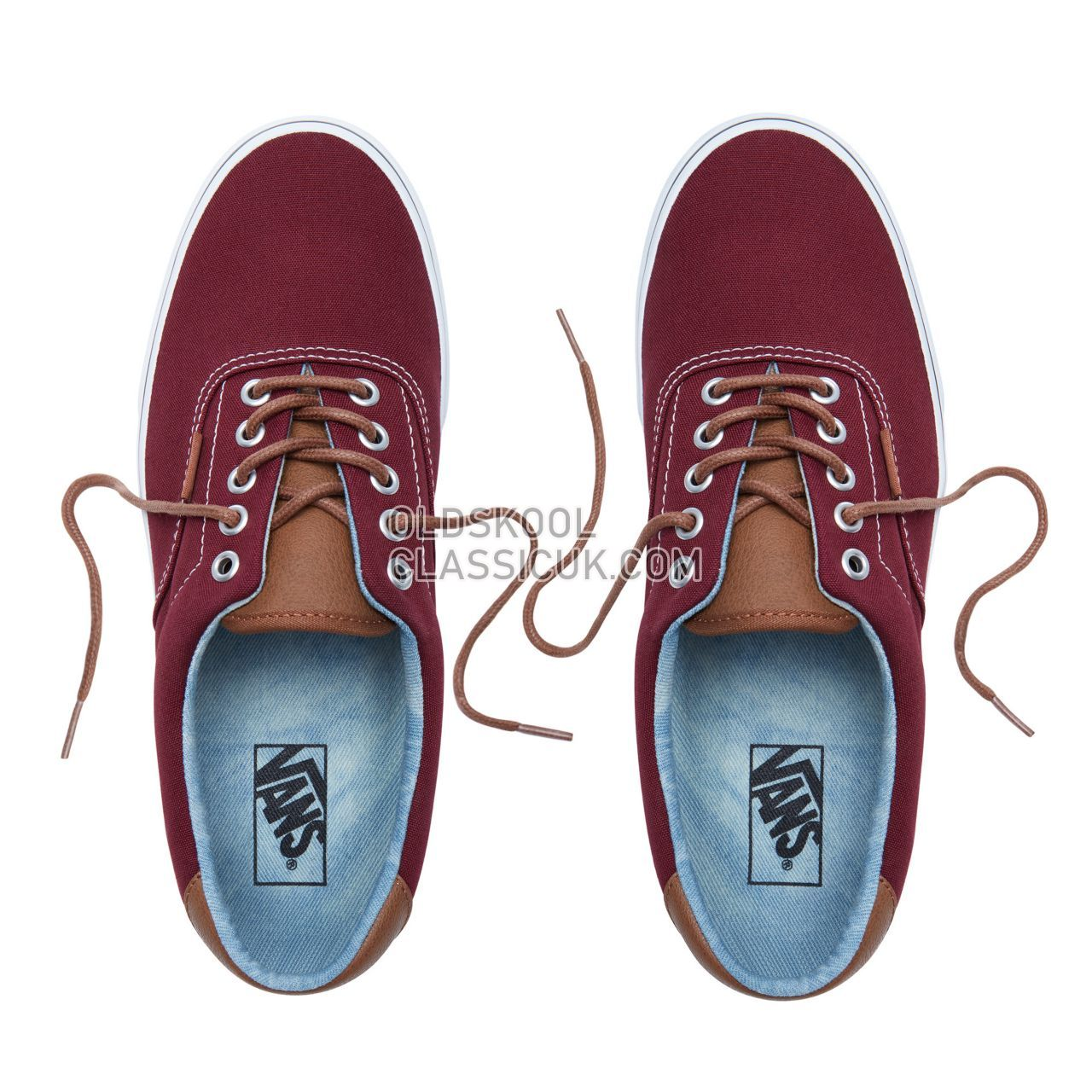 Vans C&L Era 59 Sneakers Mens Port Royale-Acid Denim VN0A38FSQK5 Shoes