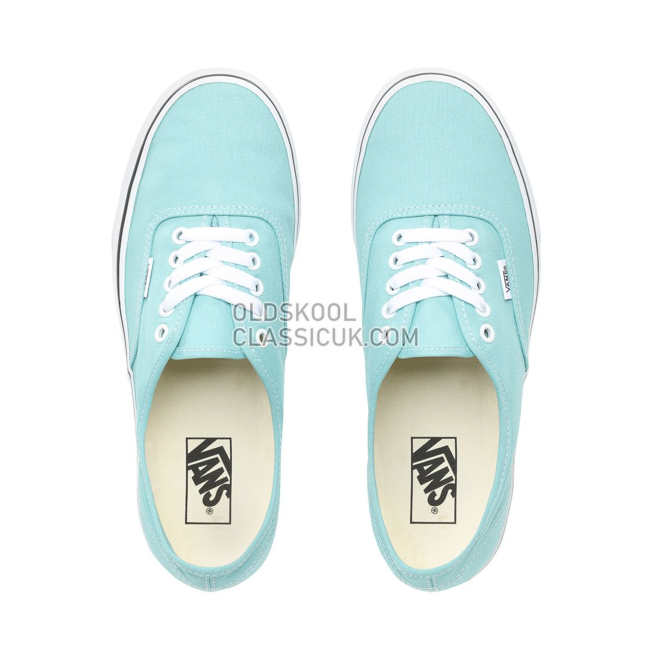 Vans Authentic Sneakers Mens Aqua Haze/True White VN0A38EMVKQ Shoes