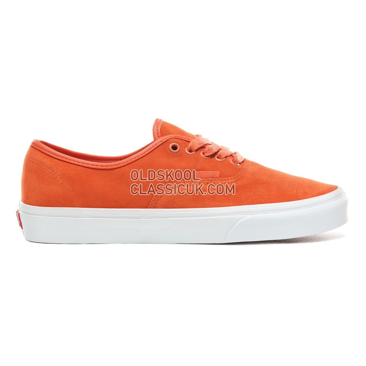 Vans Soft Suede Authentic Sneakers Mens (Soft Suede) Koi/True White VN0A38EMVKF Shoes