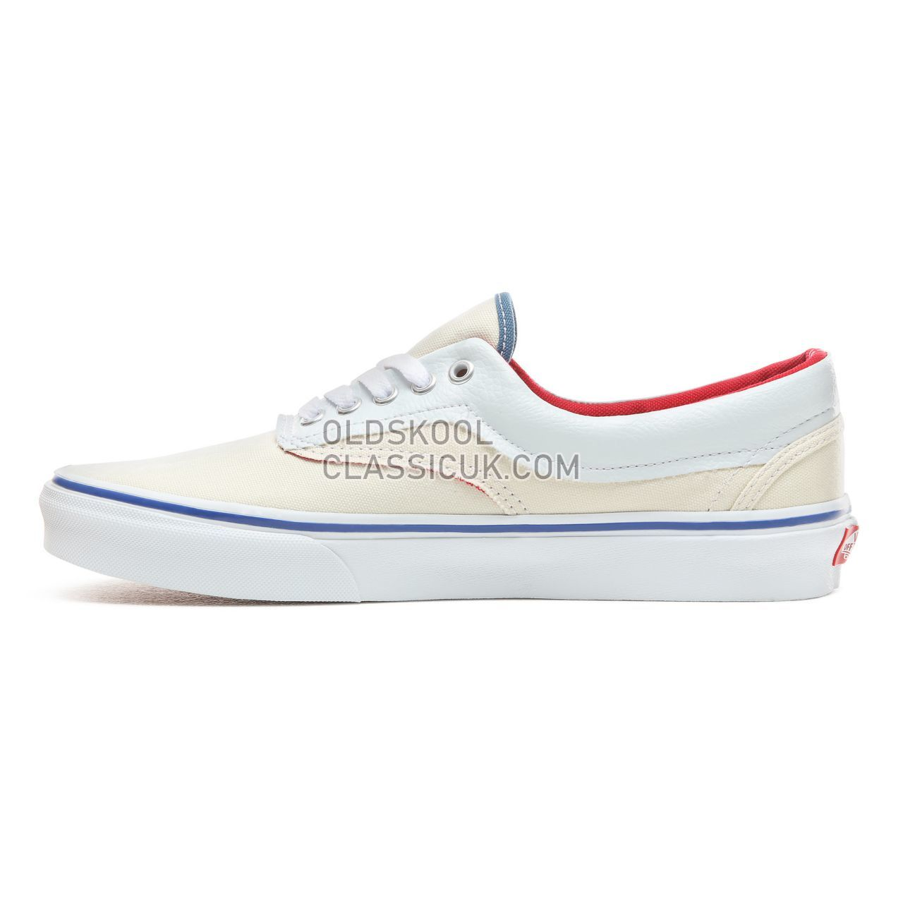 Vans Outside In Era Sneakers Mens (Outside In) Natural/Stv Navy/Red VN0A38FRVME Shoes