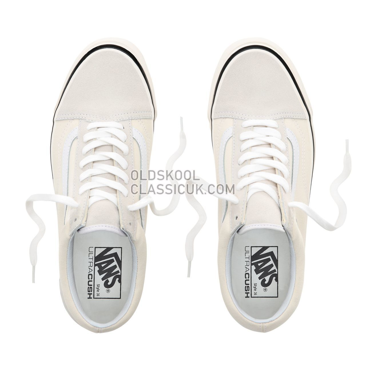 Vans Old Skool 36 DX Sneakers Mens Womens Unisex (Anaheim Factory) Classic White VN0A38G2MR4 Shoes