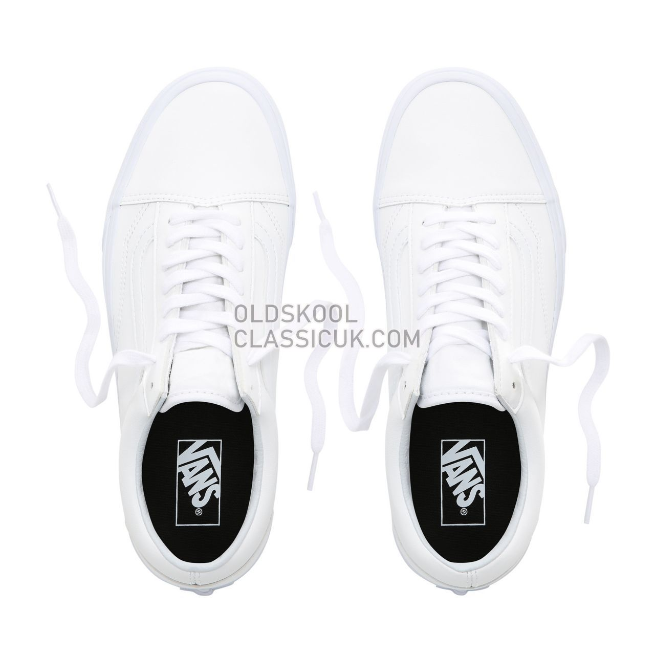Vans Classic Tumble Old Skool Sneakers Mens Womens Unisex (Classic Tumble) True White VN0A38G1ODJ Shoes