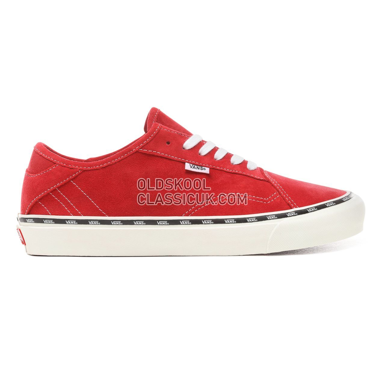 Vans New Issue Diamo Ni Sneakers Mens (New Issue) Tango Red/True White VN0A3TKDVOG Shoes