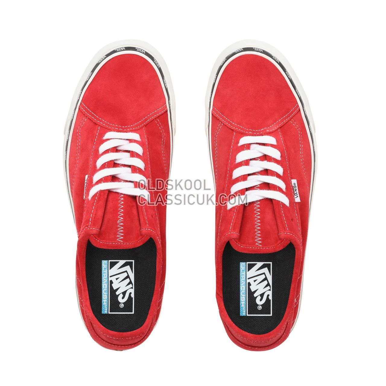 Vans New Issue Diamo Ni Sneakers Mens (New Issue) Tango RedTrue White VN0A3TKDVOG Shoes £58
